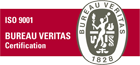 ISO 9001 BEREAU VERITAS CERTIFICATION